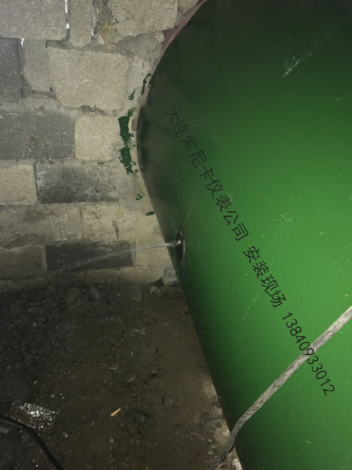 湖北国家湿地公园-市区供水项目超声波流量计现场