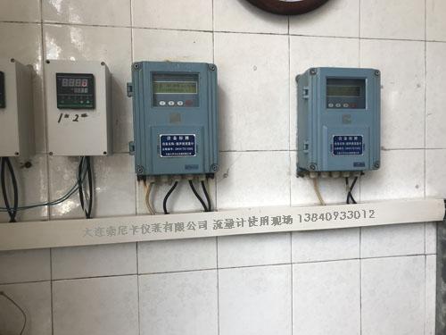 污水处理厂超声波流量计现场