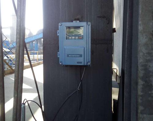 外夹式超声波流量计安装现场