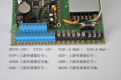 超声波流量计主板接线图